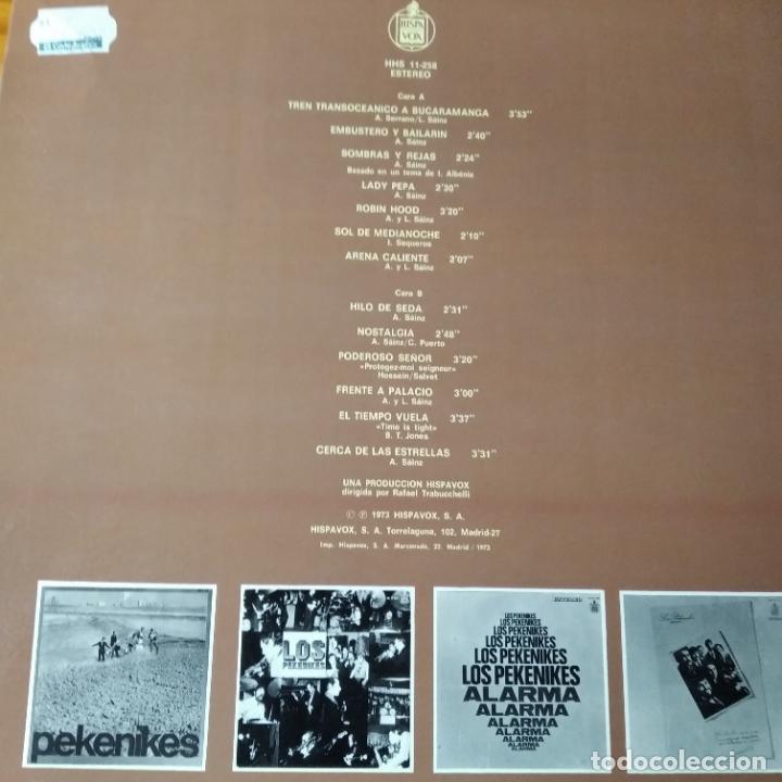 Discos de vinilo: LO MEJOR DE LOS PEKENIKES - LP 1973- - Foto 2 - 194304510