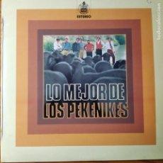 Discos de vinilo: LO MEJOR DE LOS PEKENIKES - LP 1973- . Lote 194304510