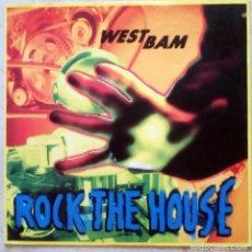 Discos de vinilo: WESTBAM – ROCK THE HOUSE UK 1991 . Lote 194304585