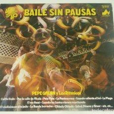 Discos de vinilo: PEPE GALAN Y LOS RITMICOS - BAILE SIN PAUSAS 2 - DIAL DISCOS 1979. Lote 194306177