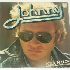 Discos de vinilo: JOHNNY HALLYDAY - ROCK'N SLOW - PHILIPS FRANCE 1974. Lote 194307028