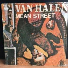 Discos de vinilo: VAN HALEN - MEAN STREET (SINGLE) (D:VG+). Lote 194307478