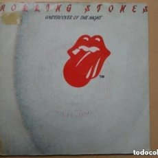 Discos de vinilo: ROLLING STONES - UNDERCOVER OF THE NIGHT (SG) PROMO !!!!! 1983. Lote 194307481