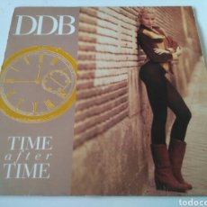 Discos de vinilo: DDB - TIME AFTER TIME. Lote 194307641