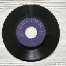 Discos de vinilo: SINGLE BONNY & CHER 1965 -SIN CARÁTULA- JUST YOU, THE LETTER, I GOT YOU BABE, IT'S GONNA RAIN. Lote 194309577