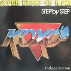 Discos de vinilo: KOXO– STEP BY STEP - MAXI-SINGLE ZAFIRO 1983. Lote 194310285