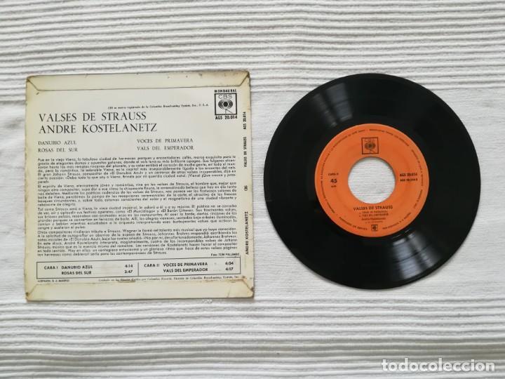 Discos de vinilo: Vinilo André KOSTELANETZ: Valses de Strauss - Foto 2 - 194310302