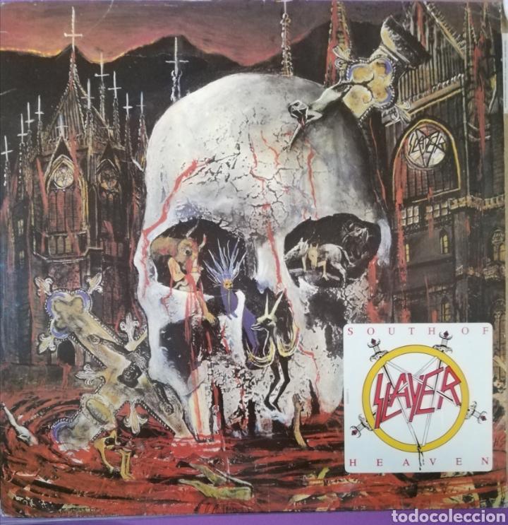 DISCO VINILO SLAYER-SOUTH OF HEAVEN. (Música - Discos - LP Vinilo - Heavy - Metal)