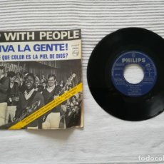 Discos de vinilo: SINGLE UP WITH THE PEOPLE 1969. Lote 194311417