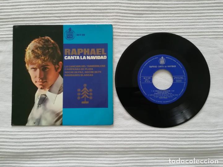 SINGLE RAPHAEL CANTA LA NAVIDAD (Música - Discos - Singles Vinilo - Flamenco, Canción española y Cuplé)