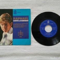 Discos de vinilo: SINGLE RAPHAEL CANTA LA NAVIDAD. Lote 194313062