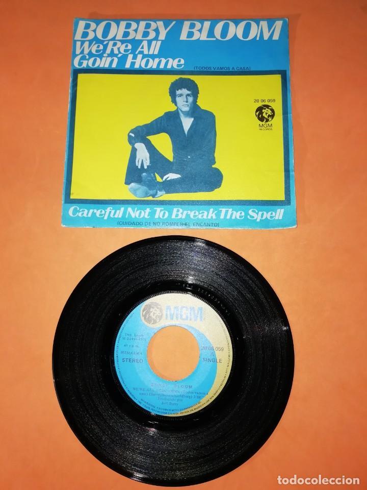 BOBBY BLOOM . WE,RE ALL GOIN HOME. MGM 1971 (Música - Discos - Singles Vinilo - Pop - Rock - Extranjero de los 70)