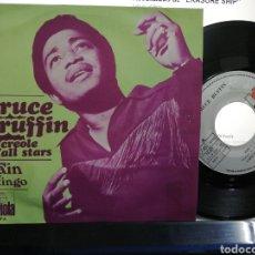 Discos de vinilo: BRUCE RUFFIN SINGLE RAIN ESPAÑA 1977. Lote 194316488