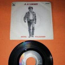 Discos de vinilo: J.J. LIGHT. HEYA . VIAJANDO. LIBERTY HISPAVOX. 1969 . Lote 194317737