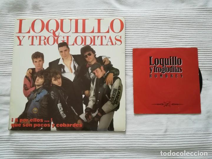 LOQUILLO Y LOS TROGLODITAS LP DOBLE + SINGLE (Música - Discos - LP Vinilo - Grupos Españoles de los 90 a la actualidad)