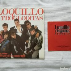 Discos de vinilo: LOQUILLO Y LOS TROGLODITAS LP DOBLE + SINGLE. Lote 194318336