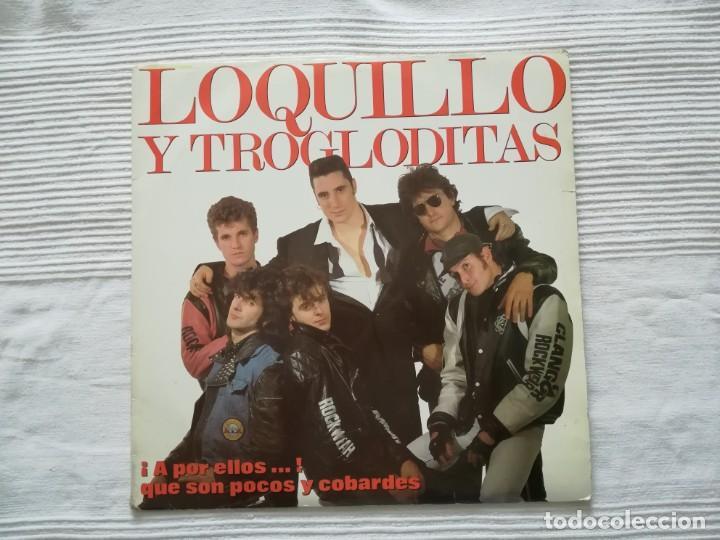 Discos de vinilo: LOQUILLO Y LOS TROGLODITAS LP doble + single - Foto 2 - 194318336