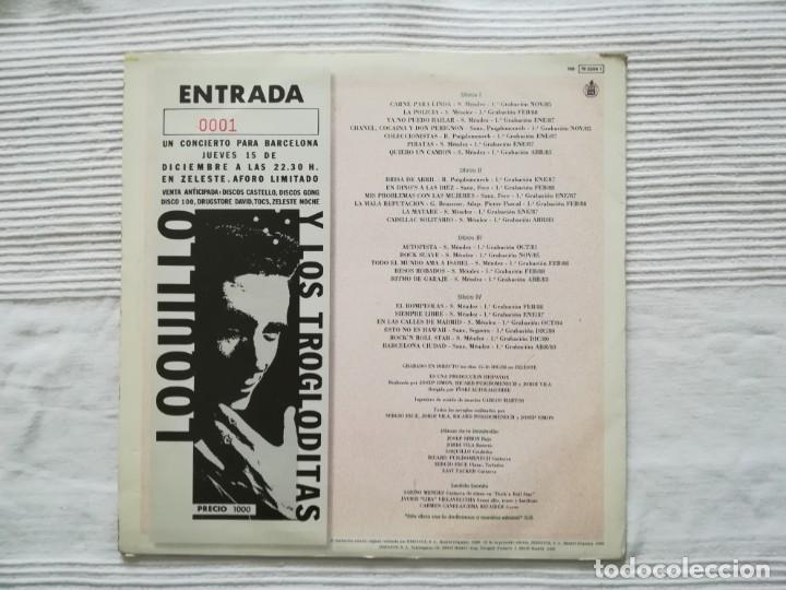Discos de vinilo: LOQUILLO Y LOS TROGLODITAS LP doble + single - Foto 3 - 194318336