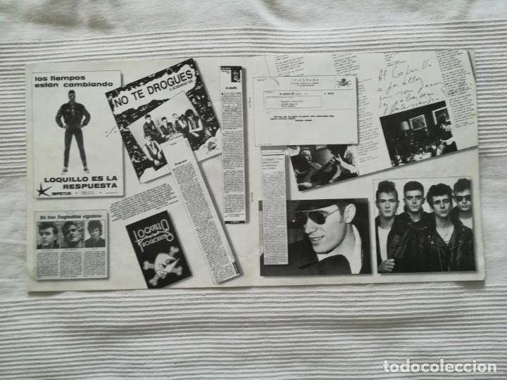 Discos de vinilo: LOQUILLO Y LOS TROGLODITAS LP doble + single - Foto 7 - 194318336