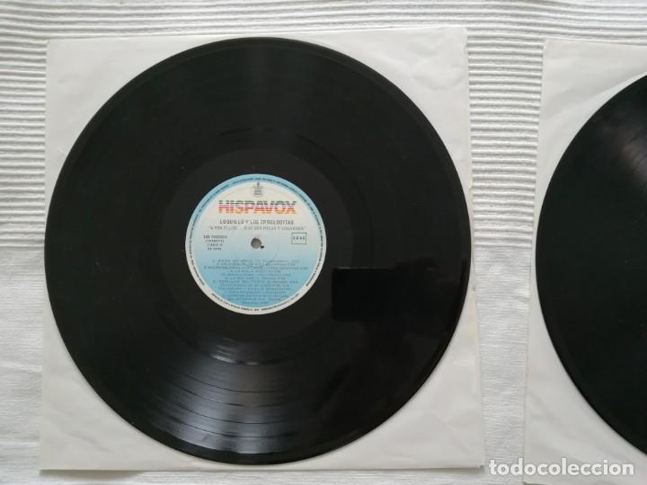 Discos de vinilo: LOQUILLO Y LOS TROGLODITAS LP doble + single - Foto 10 - 194318336