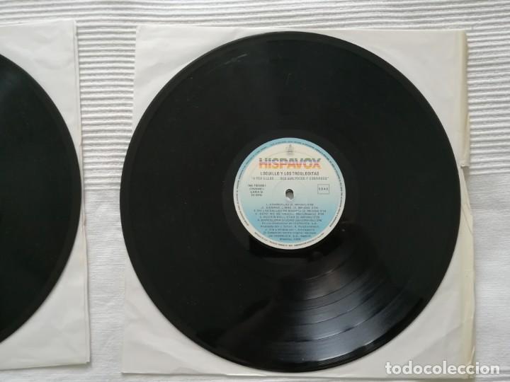 Discos de vinilo: LOQUILLO Y LOS TROGLODITAS LP doble + single - Foto 11 - 194318336