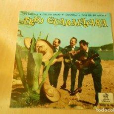 Discos de vinilo: TRIO GUADALAJARA, EP , LA PALOMA + 3, AÑO 1963. Lote 194318408