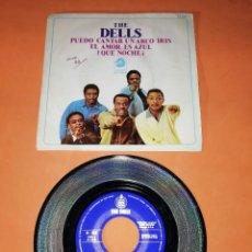 Discos de vinilo: THE DELLS. PUEDO CANTAR UN ARCO IRIS. HISPAVOX 1969. Lote 194318540
