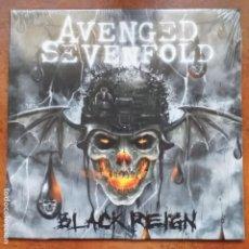 Discos de vinilo: AVENGED SEVENFOLD - BLACK REIGN (10' PULGADAS) PRECINTADO!!!!. Lote 194318631