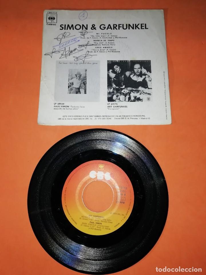 Discos de vinilo: SIMON & GARFUNKEL. MI PUEBLO. CBS 1975. - Foto 2 - 194319280
