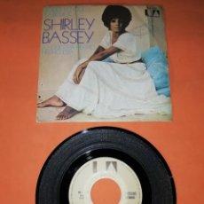 Discos de vinilo: SHIRLEY BASSEY. TODO LO QUE SABEMOS. UNITED ARTISTIS RECORDS 1971 .. Lote 194321008