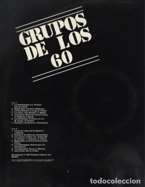 Discos de vinilo: Grupos De Los 60 Compilation Pop Rock - Foto 2 - 194321216