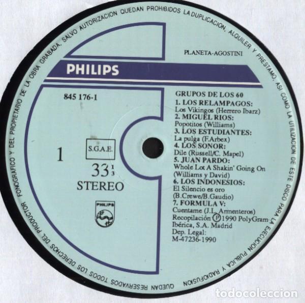 Discos de vinilo: Grupos De Los 60 Compilation Pop Rock - Foto 3 - 194321216