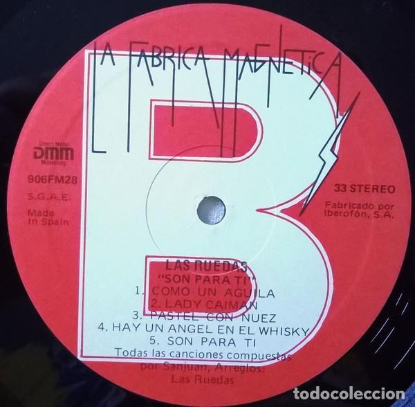 Discos de vinilo: Las Ruedas – Son Para Ti - Pop Rock - Foto 4 - 194323135