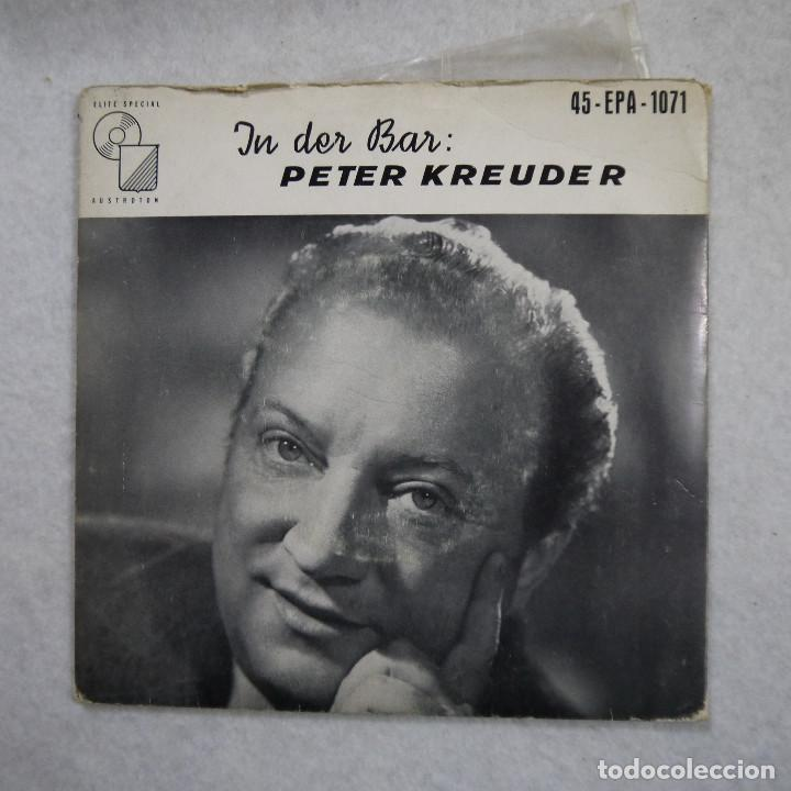 Discos de vinilo: PETER KREUDER - IN DER BAR - SINGLE - Foto 1 - 194326158