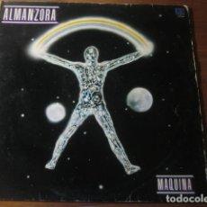 Discos de vinilo: ALMANZORA - MÁQUINA *************** RARO LP PROG COSMIC DISCO J.LLOBELL. Lote 194327218