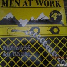 Discos de vinilo: MEN AT WORK - BUSSINES AS USUAL LP - ORIGINAL INGLES - EPIC RECORDS 1982 MUY NUEVO (5). Lote 194327490