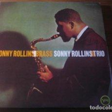 Discos de vinilo: SONNY ROLLINS - BRASS/TRIO *************** LP JAPONÉS VERVE IMPECABLE!. Lote 194327896
