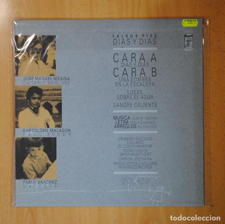 Discos de vinilo: FALSOS PIES - DIAS Y DIAS - MINI LP - Foto 2 - 194328016