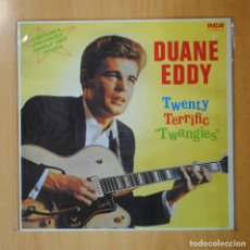 Discos de vinilo: DUANNE EDDY - TWENTY TERRIFIC TWANGIES - LP. Lote 194328209