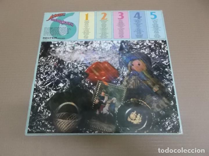 Discos de vinilo: JOVENES NOSTALGICOS 6 (LP) VARIOS INTERPRETES AÑO – 1981 - Foto 2 - 194328256