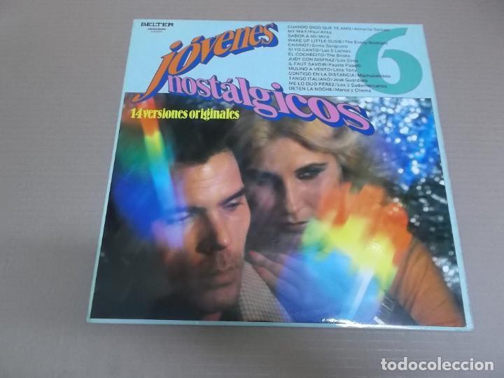 JOVENES NOSTALGICOS 6 (LP) VARIOS INTERPRETES AÑO – 1981 (Música - Discos - LP Vinilo - Pop - Rock Extranjero de los 50 y 60)