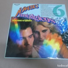 Discos de vinilo: JOVENES NOSTALGICOS 6 (LP) VARIOS INTERPRETES AÑO – 1981. Lote 194328256