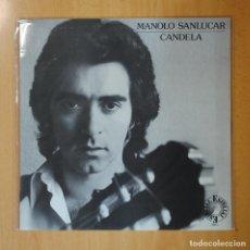 Discos de vinilo: MANOLO SANLUCAR - CANDELA - LP. Lote 194328268