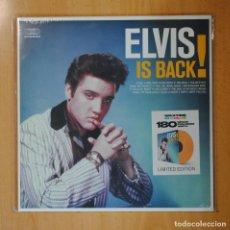 Discos de vinilo: ELVIS PRESLEY - ELVIS IS BACK ! - PICTURE DISC - LP. Lote 194328280