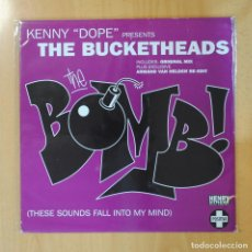 Discos de vinilo: KENNY DOPE GONZALEZ & THE BUCKETHEADS - THE BOMB! ( THESE SOUNDS FALL INTO MY MIND ) - MAXI. Lote 194328302