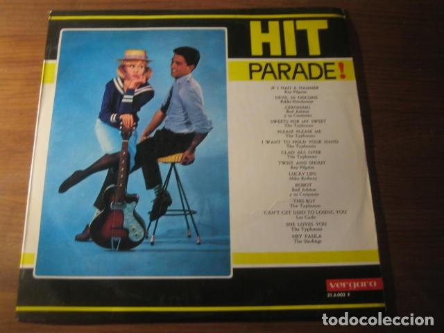 VVAA - HIT PARADE *************** RARO LP VERGARA GRUPOS MERSEYBEAT UK BEATLES 1964 (Música - Discos - LP Vinilo - Pop - Rock Extranjero de los 50 y 60)