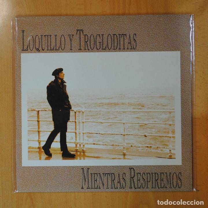 LOQUILLO Y LOS TROGLODITAS - MIENTRAS RESPIREMOS - LP (Música - Discos - LP Vinilo - Grupos Españoles de los 70 y 80)