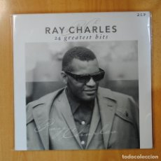 Discos de vinilo: RAY CHARLES - 24 GREATEST HITS - GATEFOLD - 2 LP. Lote 194328449