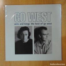 Discos de vinilo: GO WEST - ACES AND KINGS THE BEST OF GO WEST - LP. Lote 194328476