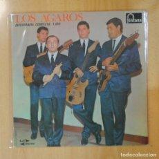 Discos de vinilo: LOS AGAROS - DISCOGRAFIA COMPLETA 1964 - LP. Lote 194328525